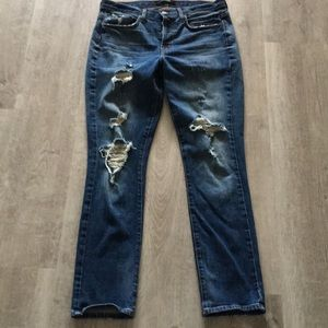 JBrand Distressed Blitz Jeans size 28